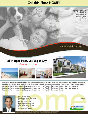 Free Top Producer Real Estate Flyers Template Set 29 Value
