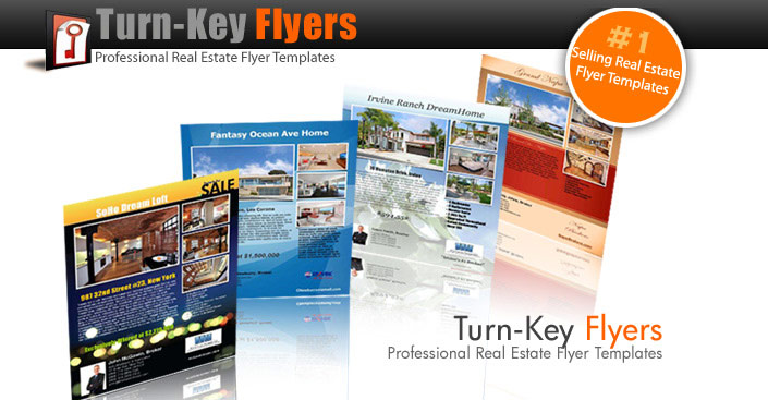 TurnKeyFlyers.com Real Estate Flyer Templates