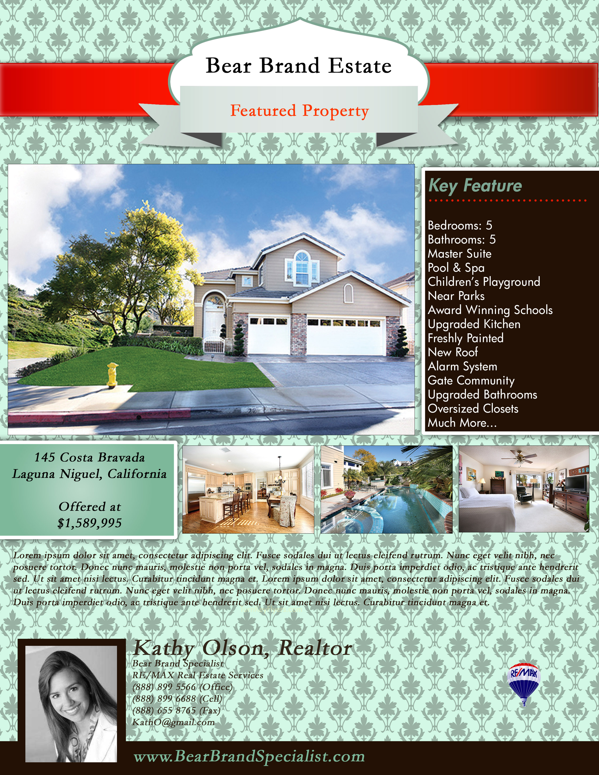 New Real Estate Flyer