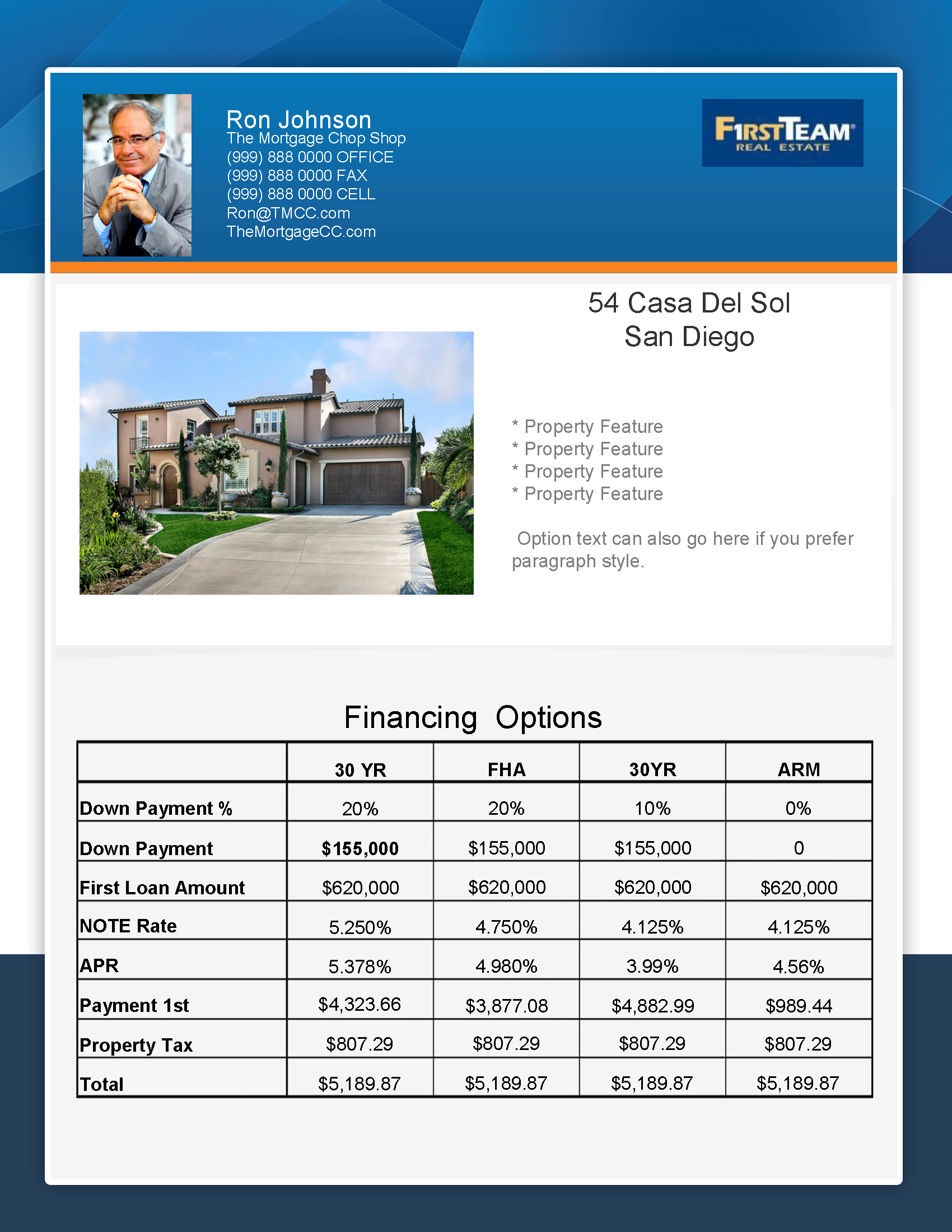What ...  Mortgage Templates