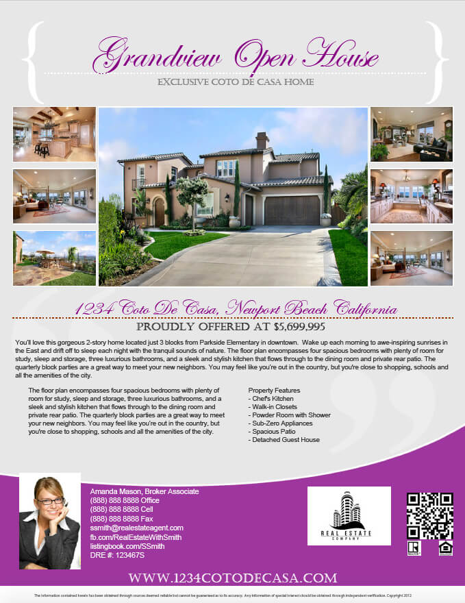 Image Result For Real Estate Flyers Pdf Templates Turnkey Flyers