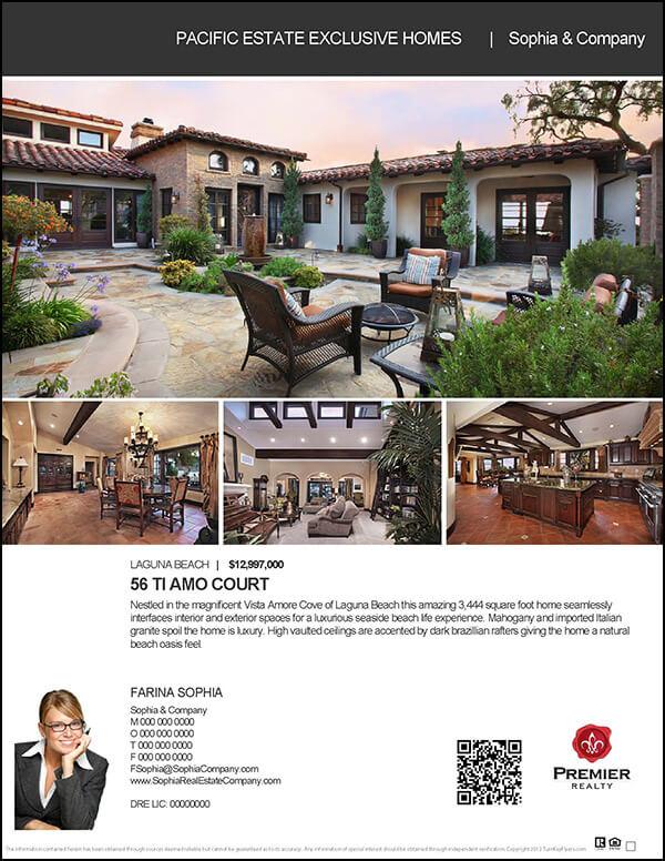 Dream Home Flyer Templates 7 Designs Upscale Magazine Style