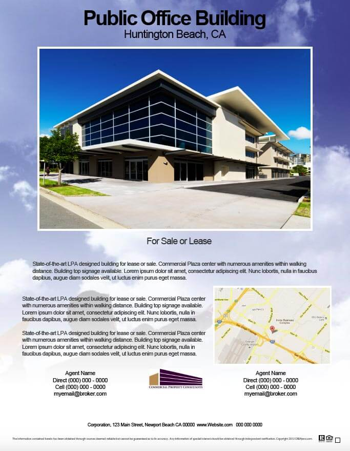 commercial real estate flyers  55 designs