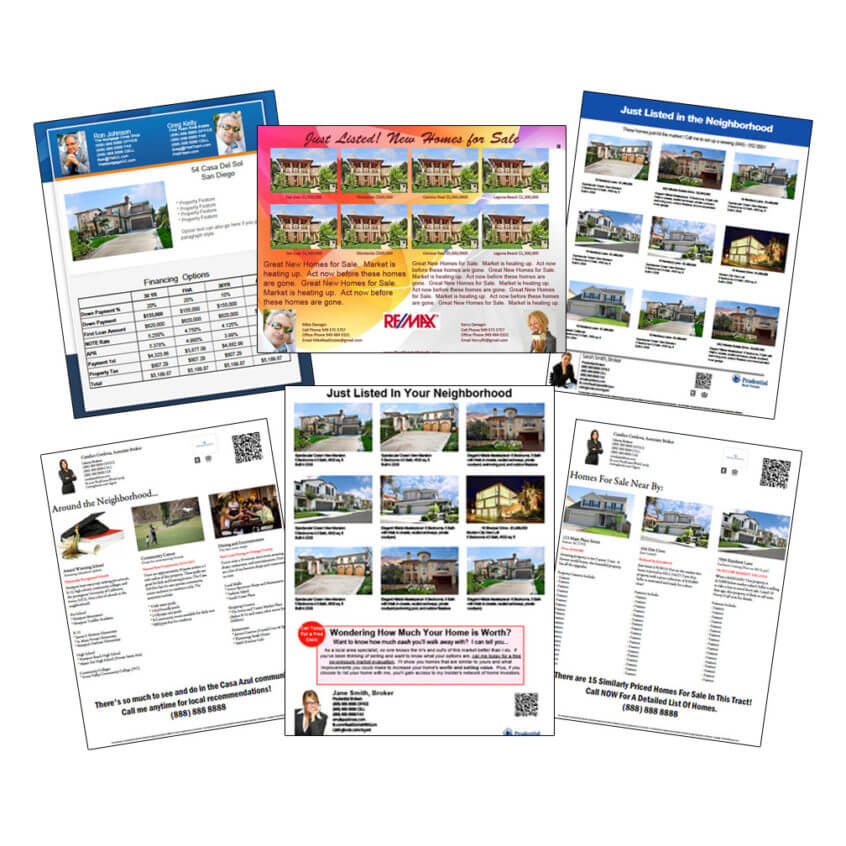 Multiple Property Flyers, Co-Branded Flyers