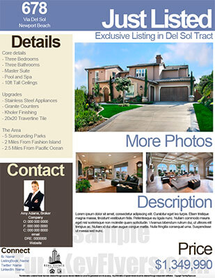 Real Estate Flyers PDF Templates Turnkey Flyers - Free real estate flyer templates download